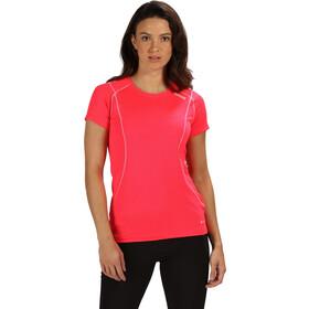 Regatta Virda III SS T-Shirt Damen neon pink